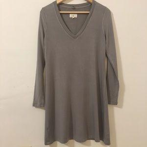 Gray Sweater Dress